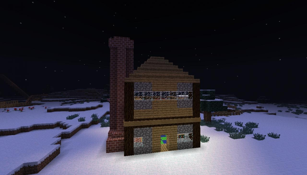 Minecraft classic house 1 7 and above minecraft project for Classic house playlist