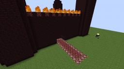 Nether Castle Minecraft Project