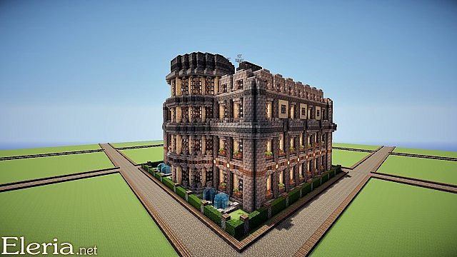 Baroque Mansion Minecraft Project