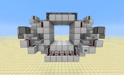 Seamless 4x4 Piston Door Minecraft
