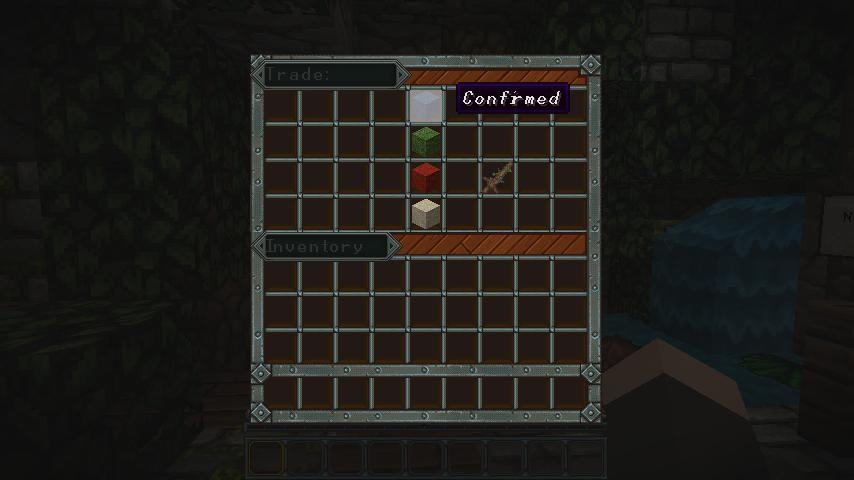 Minecraft trading system mod