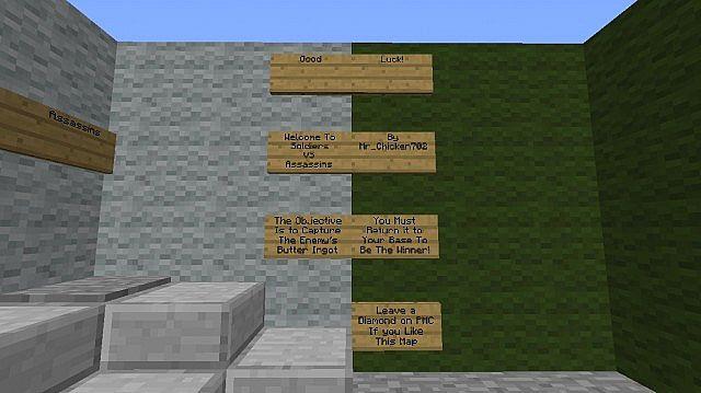 Butter Ingot Minecraft Assassins VS Soldiers ...