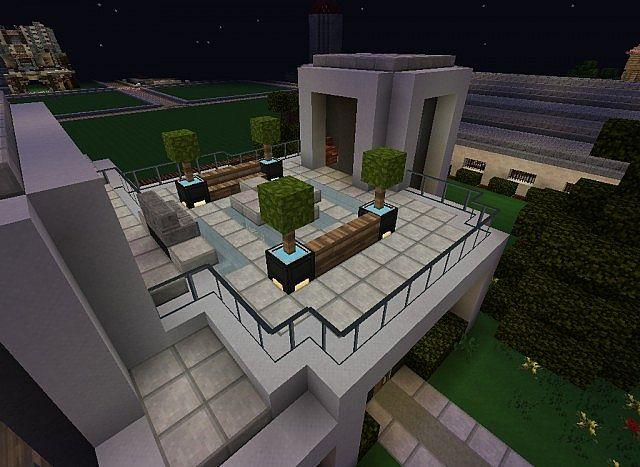 Steel A Modern Build Minecraft Project