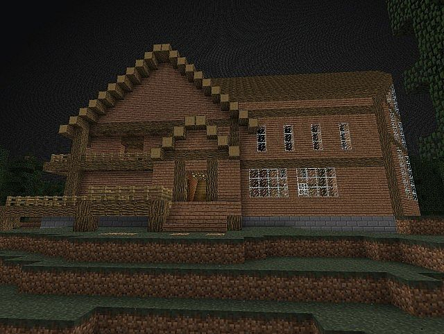 mw2 estate house only minecraft project  pool schematic