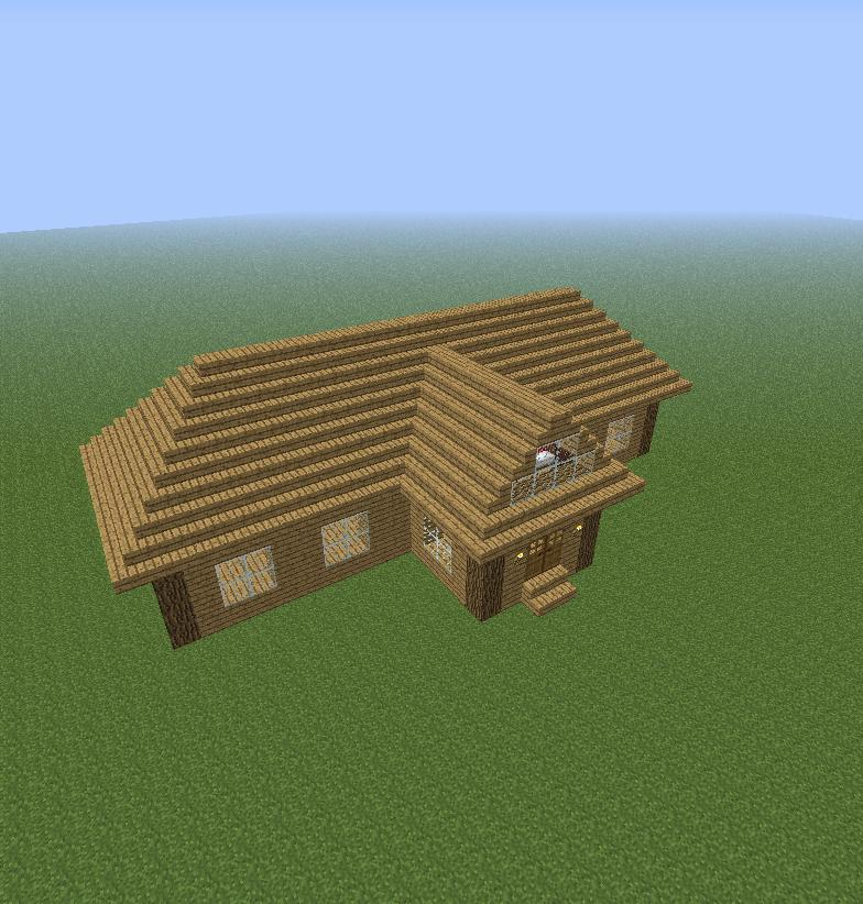 Normal Block House Minecraft Project