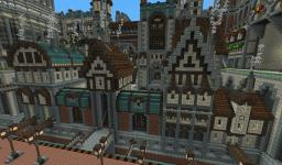 a small steampunk themed complex Minecraft