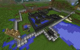 VOLTZ Fusion reactor, nuclear fission reactor, MFFS force field + LHC and Red matter generator Minecraft Project