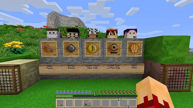 One Piece Resourses Pack Minecraft Texture Pack
