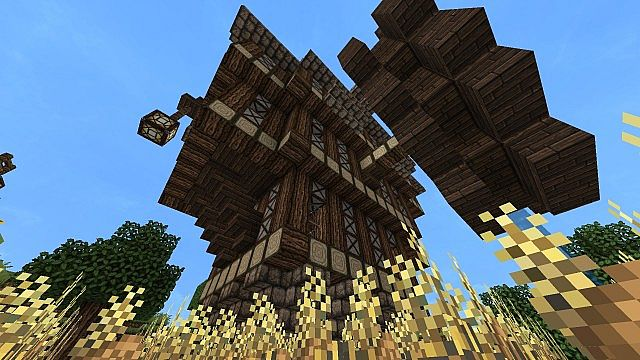 Big Medieval Steampunk House Empty Minecraft Project