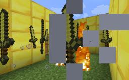 how to make floating golden swords on creative mode! Minecraft Blog