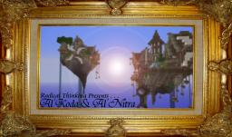 Al'Koda and Al'Nitra - A Flying Town Minecraft Map & Project