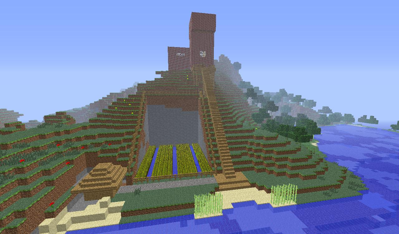 Beach House Survival Minecraft Project