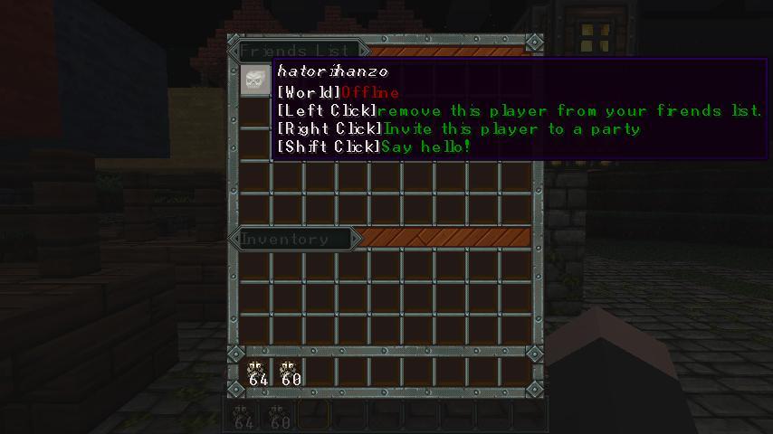 Rpg Friends Minecraft Mod