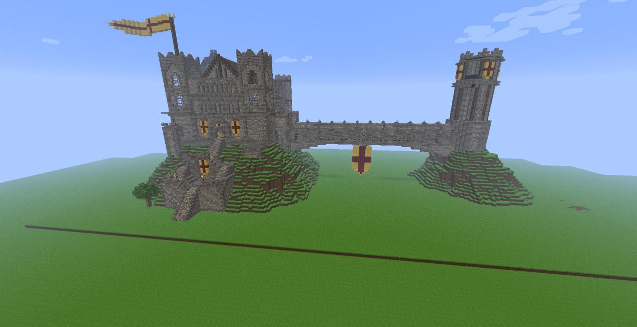 Fallen Kingdom Castle Minecraft Project