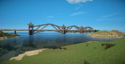 Large Railway Bridge Minecraft