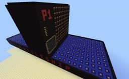 Battleship board-game in Minecraft Minecraft