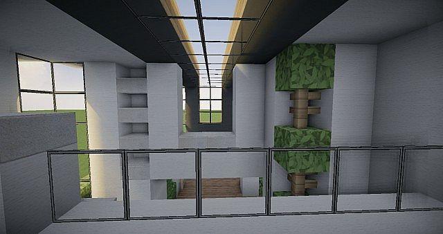 casa moderna sencilla minecraft project