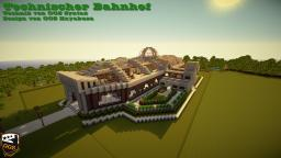 Technical train station / Technischer Bahnhof Minecraft Map & Project