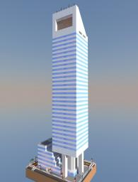 CitiGroup Center Minecraft Map & Project