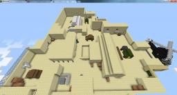 Desert Camp (For Flan's Moder Weapons Mod) Minecraft Map & Project