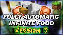 [VERSION 3] Automatic Chicken Farm Cooker (INFINITE FOOD) Minecraft Map & Project