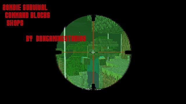 1.5.2]Ferullo's Guns Mod - Zombie Apocalypse Survival Map Minecraft on