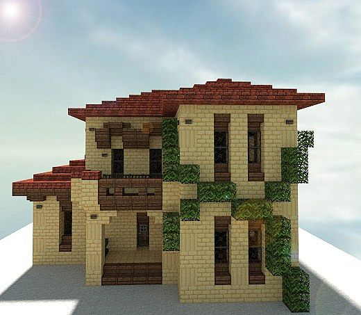 Tuscan home pack minecraft project for Classic italian house
