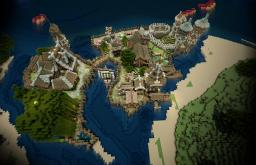 Zeverth -Amazing Coastal Village- The Tales of Runebrire Official Project Minecraft