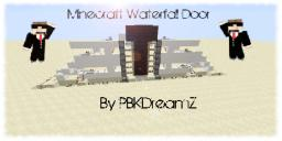 Triple Piston Waterfall Door Minecraft Project