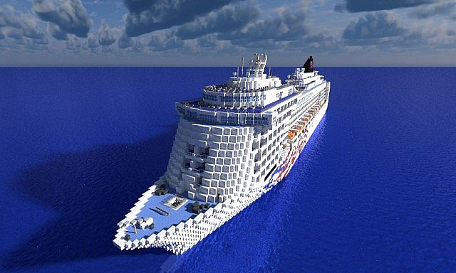 Pride Of America Cruise Ship11 Minecraft Project