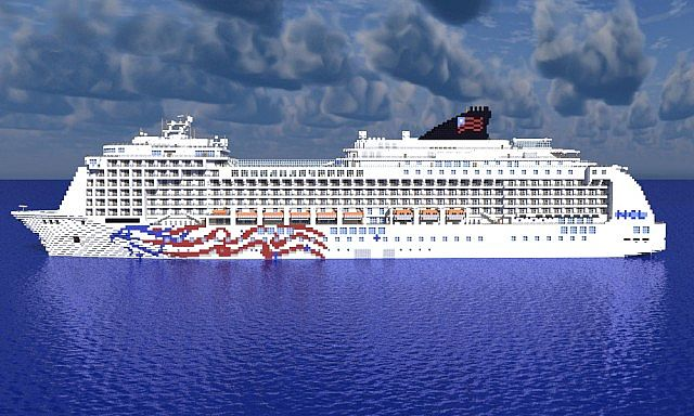 Pride Of America Cruise Ship Minecraft Project - The pride of america cruise ship