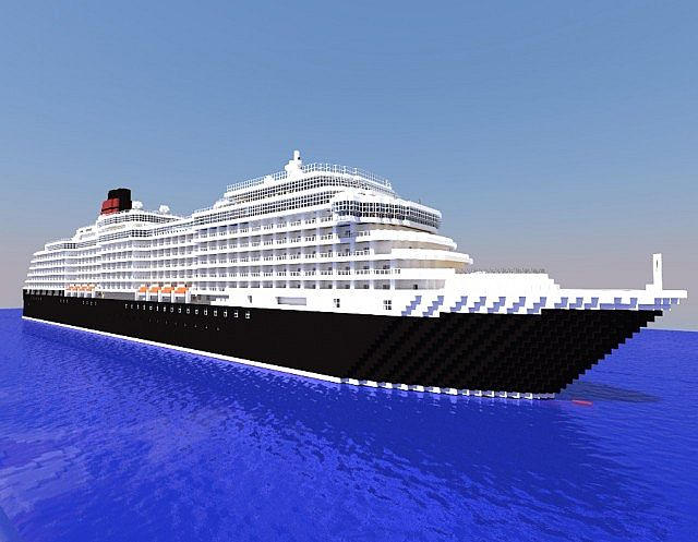 how to build a cruise ship in minecraft