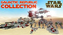 Star Wars - Galactic Republic Collection Minecraft Map & Project