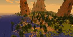 Huge Terraform Islands! [Custom Terrain!] Minecraft Map & Project