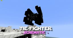 Tie-Fighter Schematic - PD's Star Wars Collection Minecraft Map & Project