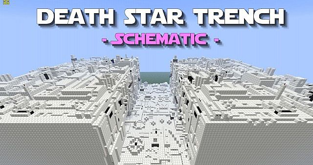 Star Trench Schematic - PD's Star Wars Collection Minecraft ... on