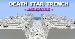 Death Star Trench Schematic - PD's Star Wars Collection Minecraft