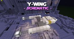 Y-Wing Schematic - PD's Star Wars Colletion Minecraft Map & Project