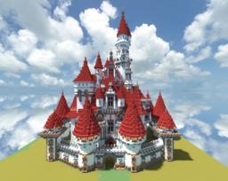 minecraft Disney Land castle Minecraft