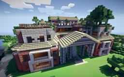 LARGE 3 story Mansion Minecraft Project