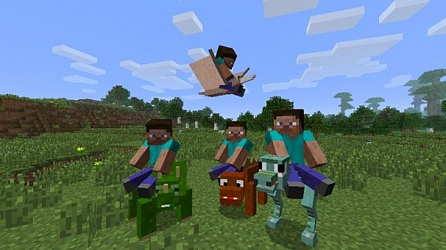 Animal Bikes Mod Minecraft 1.7.10 Mod Details