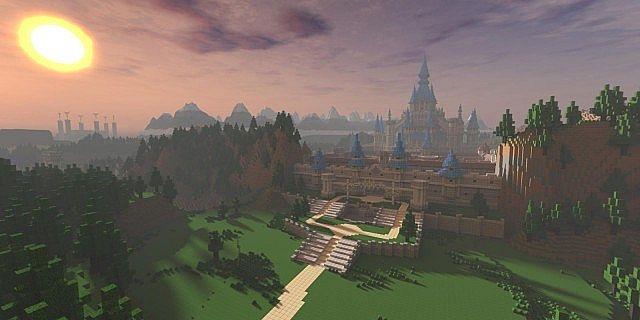 Zelda: twilight princess minecraft project.