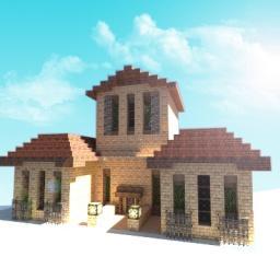 Italian House Minecraft Map & Project