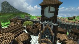 Dragonhearth - The Human Capital *We Need Builders* Minecraft Project