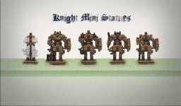 Knight mini statues Minecraft Map & Project