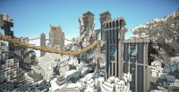 """The City of Ordin & Dragons End"" By Alpaka and Wingviper Minecraft Map & Project"