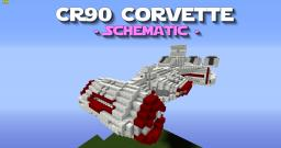 CR90 Corvette Schematic - PD's Star Wars Collection Minecraft Map & Project