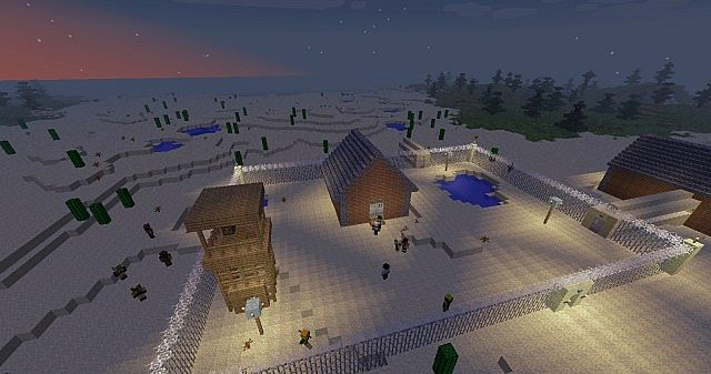 The crafting dead survival map minecraft project for Crafting dead server download