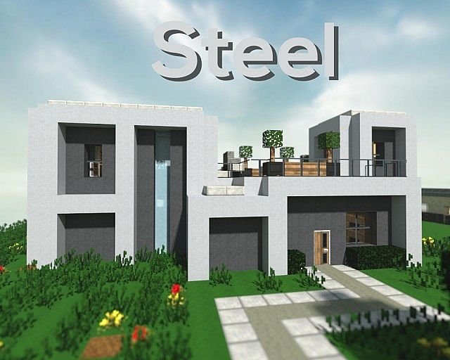 Steel A Modern Build Minecraft Project