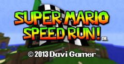 Mini game Super Mario speed RUN v1.0 Minecraft Map & Project